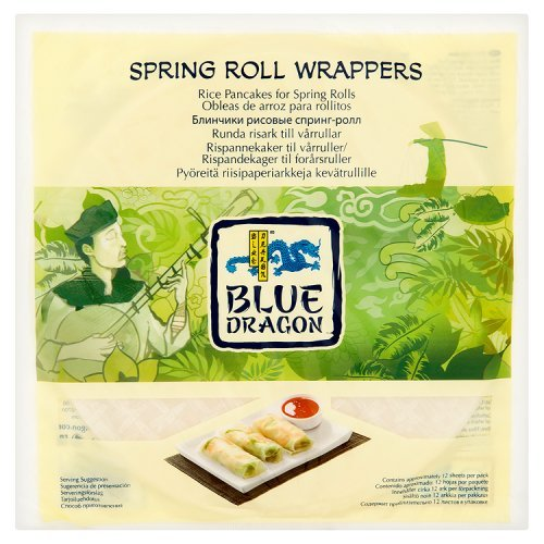 Blue Dragon Spring Roll Wrappers - Rice Fried Egg