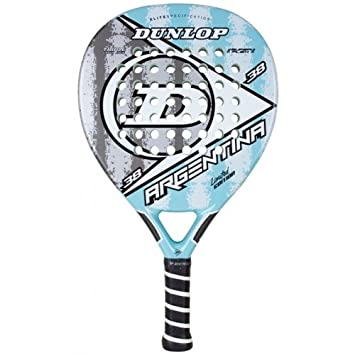 Dunlop Argentina - Pala de pádel, color blanco/gris, 38 mm: Amazon.es: Deportes y aire libre