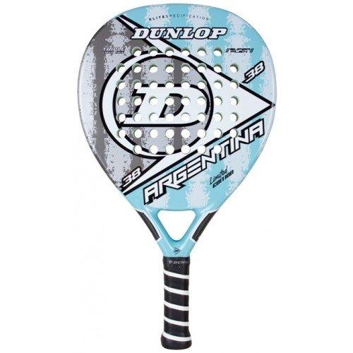 Dunlop Argentina - Pala de pádel, color blanco / gris, 38 mm ...