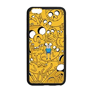 Adventure Time with Finn and Jake Custom Case for iPhone6 Plus 5.5""