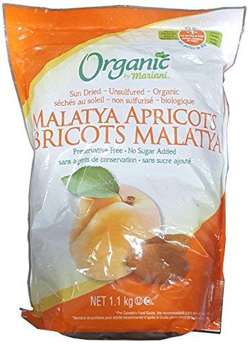 Mariani Organic Sun Dried Unsulfured Malatya Apricots (Apricot Organic Dried Apricots)
