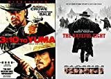 Modern Wild Wild Western DVD 2 Pack: 3:10 To Yuma & The Hateful Eight Double Feature Bundle