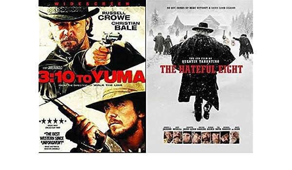 Modern Wild Wild Western DVD 2 Pack: 3:10 To Yuma & The Hateful ...