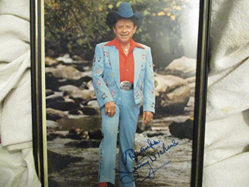 Jimmy Dickens Signed Picture with Frame -