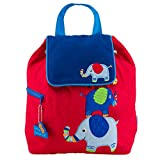 Stepheh Joseph Quilted Backpack, Elephant