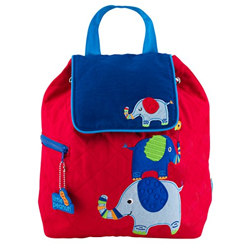 Stepheh Joseph Quilted Backpack, Elephant by Stephen Joseph