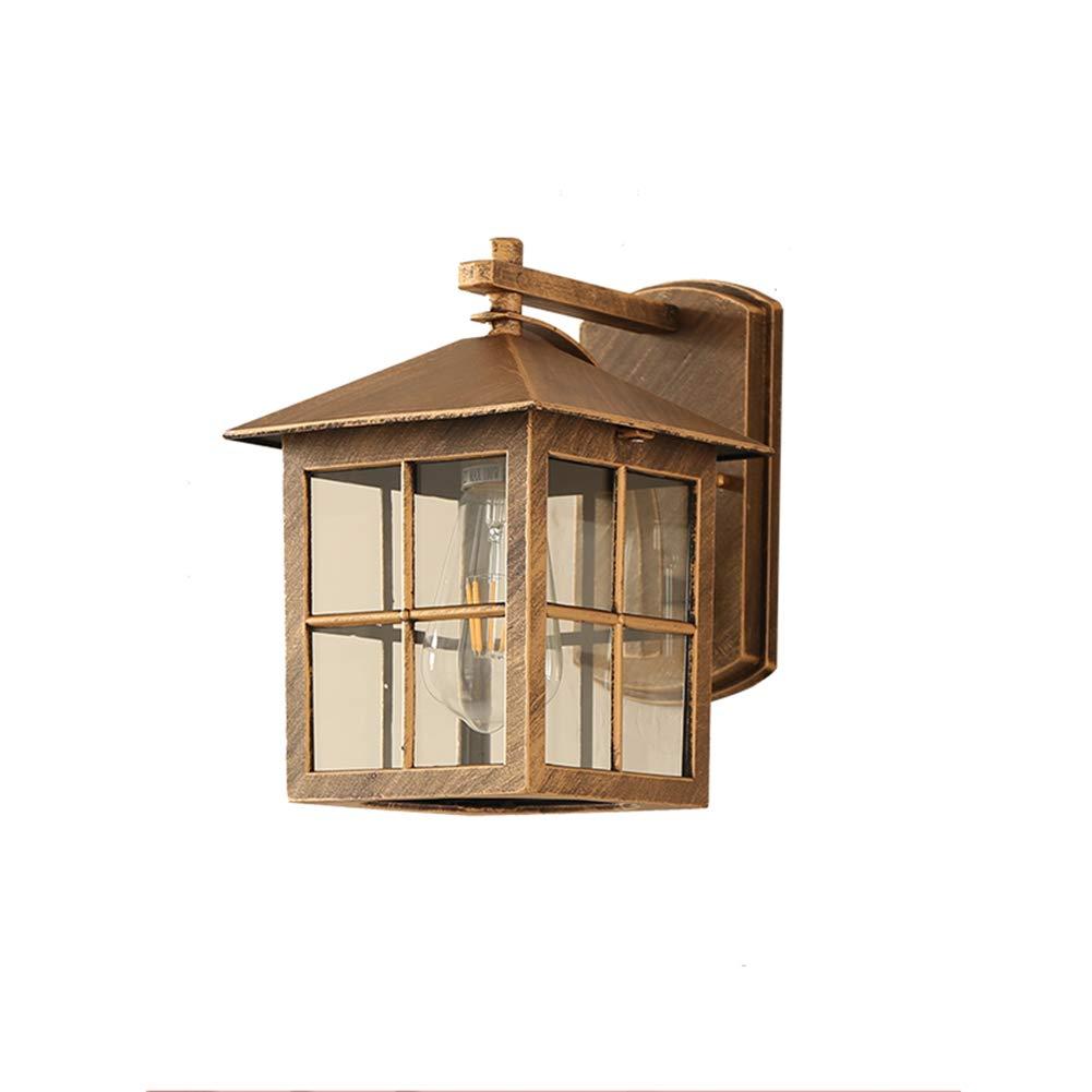 Sconto del 60% Sconce della parete della retro della lampada da parete impermeabile impermeabile impermeabile all'aperto antica del balcone del giardino lampada americana (Colore   B)  vanno a ruba