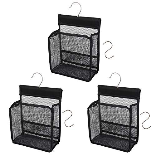 FishMM Hanging Mesh Shower Caddy College with Hooks, Bath Baskets Organizer Storage for College Dorm Rooms, Gym, Swimming and - Tot Rod