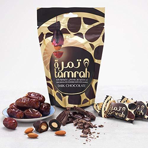 80g Schokodatteln mit Dunkelschokolade und Mandeln neue und verbesserte Qualität