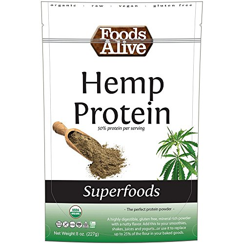 Foods Alive Organic Hemp Protein Powder, 8 Ounce ()