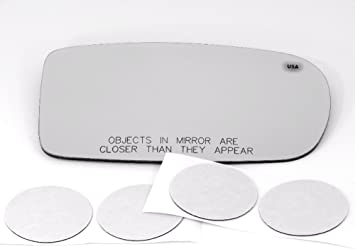 Mirror Glass Adhesive For 11-17 Chrysler 300 Driver Side Replacement