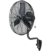Garrison 2477841 Garrison 3-Speeddustrial Oscillating Wall Mount Fan, 24, 7,700 Cfm