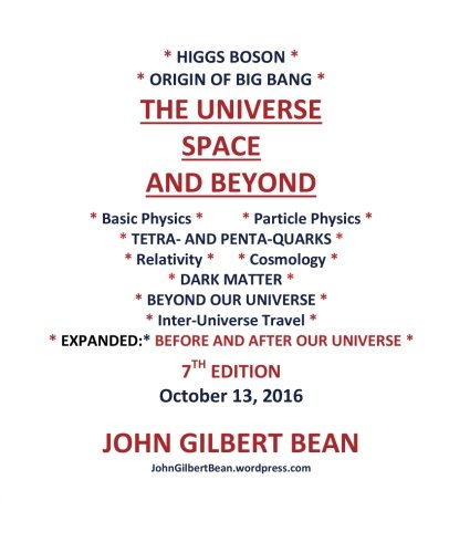 Higgs Boson , Origin of Big Bang -THE UNIVERSE, SPACE, AND BEYOND