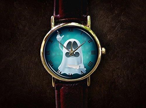 Halloween Ghost Witches watch Custom watch gift watch decorative watch Bridesmaid Watch neutral watch unique watch Wedding -
