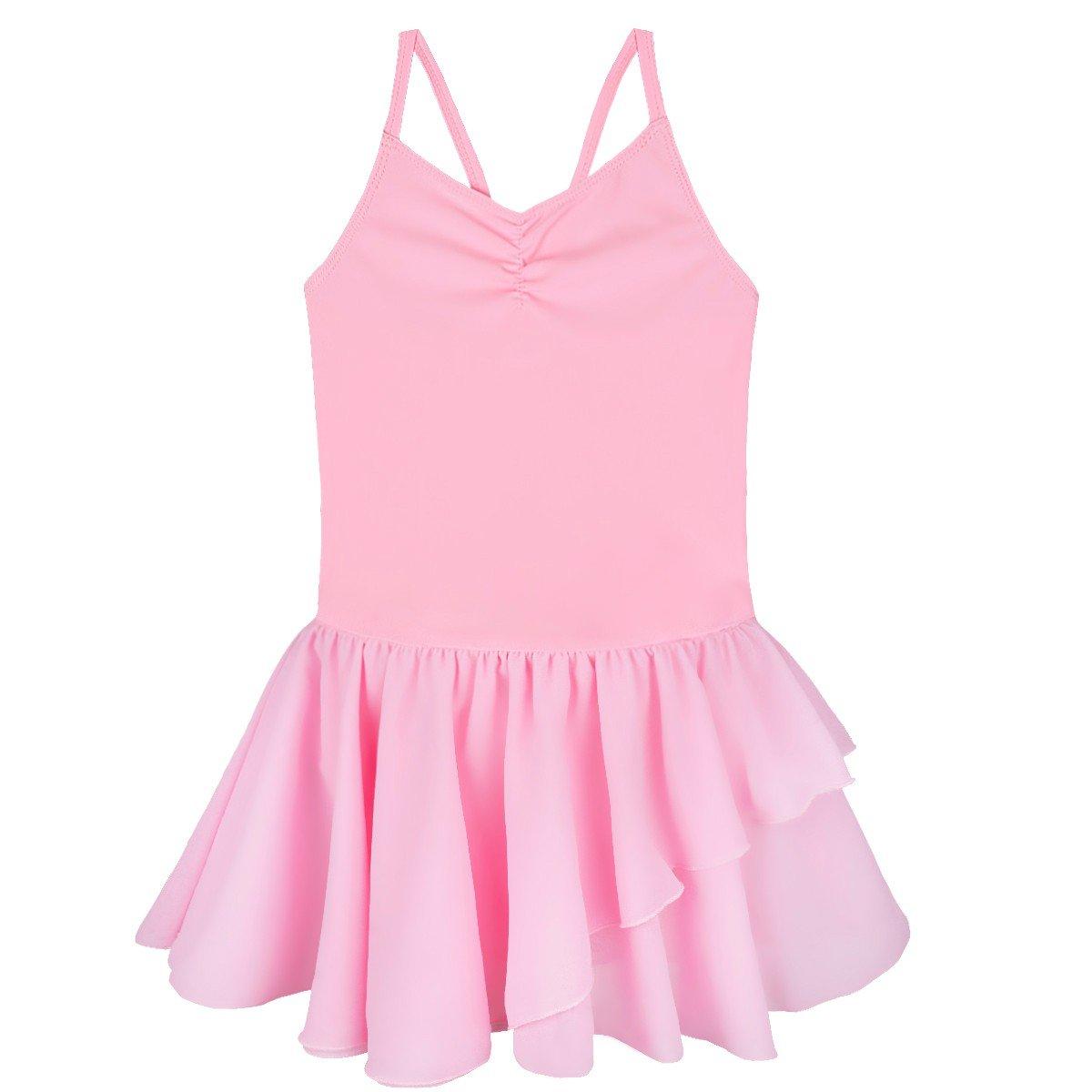 FEESHOW SOCKSHOSIERY ガールズ B01M3YJW5M 2-3|ピンク ピンク 43499