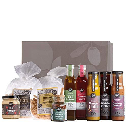 Gepp's Feinkost Gourmet Grillpaket I BBQ Paket für Männer & Frauen mit den besten Zutaten zum Grillen I Grillzubehör aus…