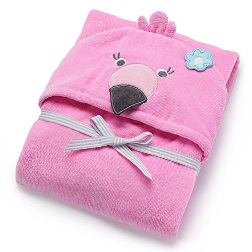 Carters Little Hooded Towel Ivory