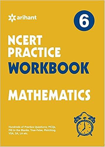WORKBOOK MATH CBSE- CLASS 6TH: Amazon in: Arihant Experts: Books
