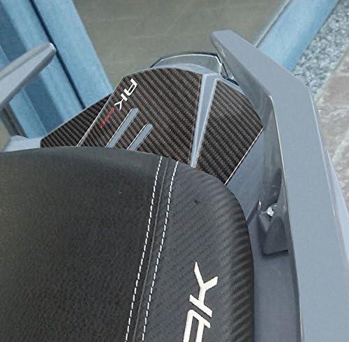 2 ADESIVI PROTEZIONE CARTER Resinati GEL 3D compatibilI per scooter Kymco AK 550