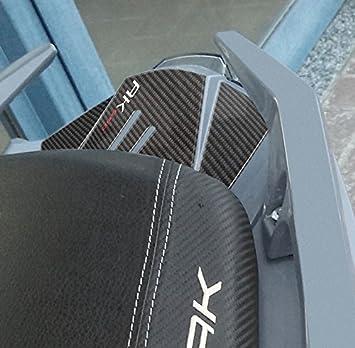 Adh/ésif Queue R/ésine Gel 3d Compatible avec Scooter Kymco Ak 550 Style Carbone