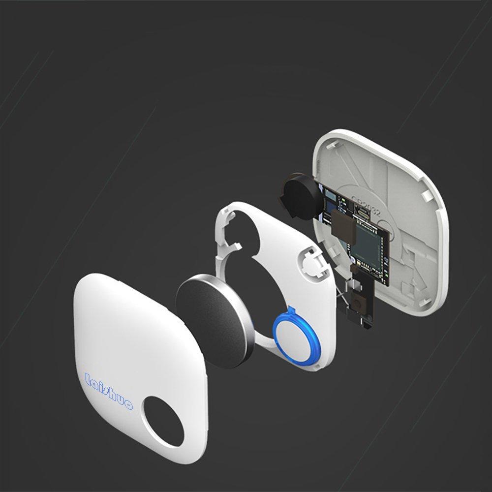 Bluetooth Tracker, Bluetooth keys Tracker, Bari Key Finder Tracking Wallet Key Bag Pet Dog Tracer Locator Alarm Patch GPS Locator for iOS/iPhone/iPod/iPad/Android by Bari (Image #5)