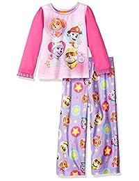 Nickelodeon girls Toddler Girls Paw Patrol Toddler 2-piece Pajama Set