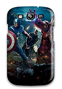 For Galaxy S3 Premium Tpu Case Cover The Avengers 41 Protective Case