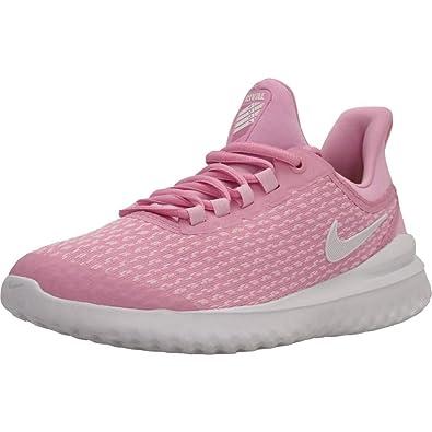 ed7a7906 Amazon.com   Nike Girl's Renew Rival Running Shoe Pink Rise/White/Pink Foam  Size 6 M US   Running