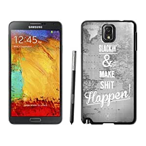 NEW Custom Designed For SamSung Galaxy S4 Mini Case Cover Phone With Quit Slackin And Make Shit Happen_Black Phone