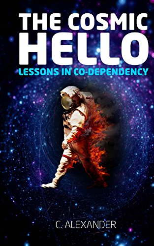 #freebooks – [Kindle] [Free] The Cosmic Hello: Lessons in Co-Dependency. 3 days left to grab one for free. It's a Poetry book that uses space/new age imagery to discuss divorce, religion, self love, relationships, and much more.