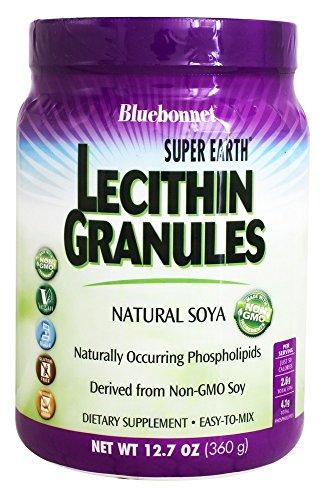 Lecithin 95 Granules - Bluebonnet Nutrition - Natural Soya Lecithin Granules - 12.7 oz.