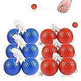 Flantor Ladder Toss Ball Replacement Set, Ladder Golf Balls 6 pcaks