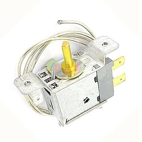 WPF-20 Controlador de temperatura - TOOGOO(R)66 cm cable 2 pin controlador de temperatura termostato para frigorificos: Amazon.es: Hogar
