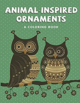 Animal Inspired Ornaments Coloring Book Animal ebook