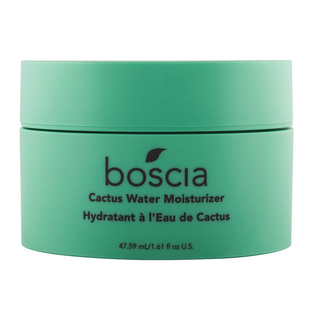 boscia Cactus Water Moisturizer - Vegan, Cruelty-Free, Natural and Clean Skincare | Cactus and Aloe Vera Daily Lightweight Gel Moisturizer, 1.61 fl Oz
