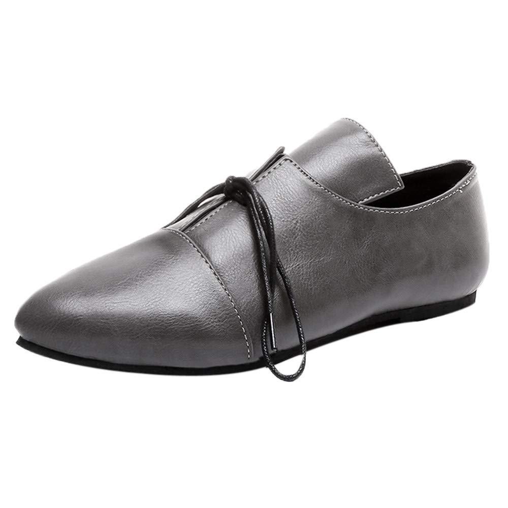 LuckyGirls Zapatos para Mujer Zapatillas Casual Calzado de Planos Informales Bandage Bambas Zapatos para Perezoso Ná uticos Mocasines