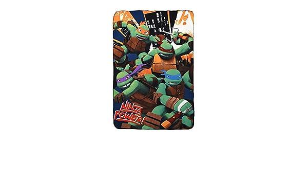 Tortugas Ninja ph4521 - Manta Manta de forro polar 100 x 150 ...