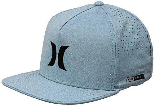 (Hurley MHA0007210 Men's Dri-Fit Icon Hat, Cerulean - OS)