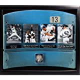 MLB New York Yankees Authentic Old Yankee Stadium Seatback Collage with Unsigned Mariano Rivera Career Photos and Plates