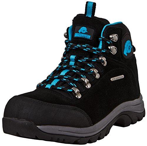 Trekking Guggen Femmes Chaussures Pour Membrane Turquoise De Impermables Air Avec Plein Daim Mountain M014 Et qxFrwYIF