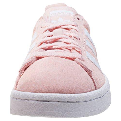 adidas Campus W, Zapatillas de Deporte para Mujer Rosa (Icey Pink/footwear White/crystal White)
