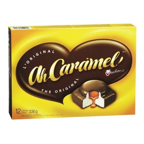 Vachon Ah Caramel! Cake, 1 Count, 336g {Imported from Canada} by VACHON