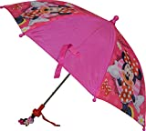 Disney Minnie Mouse Girl's Umbrella With 3D Handle