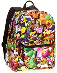 Super Mario Bros. Comics Standard Size School Backpack - Kids