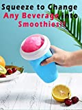 CornicLife Slush and Shake Maker, Smoothies Maker Cup Compact Make and Serve Cup with Freezer Core Juice Ice Cup Fast Cooling Bottle for Smoothies, Slushies and Milkshakes in Minutes, BPA-free, Blue
