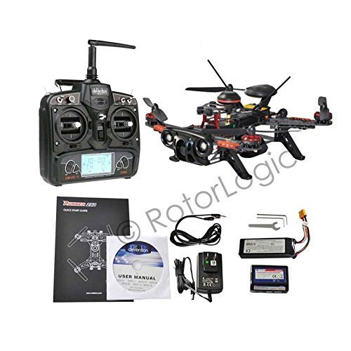 Walkera Runner 250 Advance GPS Race Quadcopter with DEVO 7 Remote, 800TLV Camera, OSD, Rotorlogic Working Pad