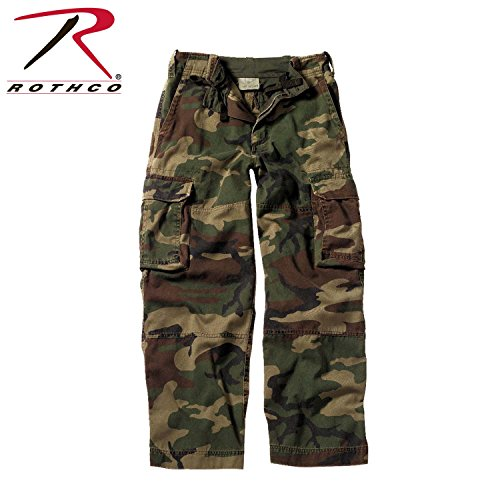 Rothco Kids Vintage Paratrooper Fatigues, Camo, Large