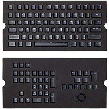 Corsair Pbt Double-Shot Keycaps Full 104/105-Keyset - RGB & Backlit  Compatible – for Mechanical Keyboards - FPS MOBA MMO - Black