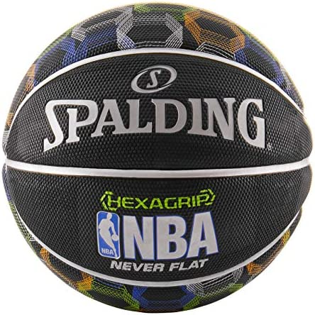 Spalding NBA NeverFlat Hexagrip Basketball