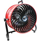 MaxxAir HVFF16T RED UPS High Velocity Floor Fan, 16